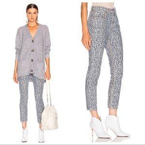 GRLFRND Karolina High Rise Skinny Jeans WILD CAT